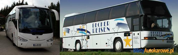 Bilety autokarowe Becker Reisen