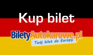 flaga niemiec bilet